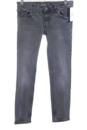 Leara Woman 3/4 Jeans grau Urban-Look
