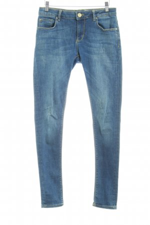 Leara Woman Skinny Jeans dunkelblau Casual-Look