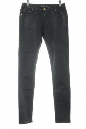 Leara Woman Slim Jeans black casual look