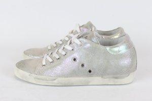 Leather Crown Sneaker Gr. 37 Leder metallic NEU (18/12/K)