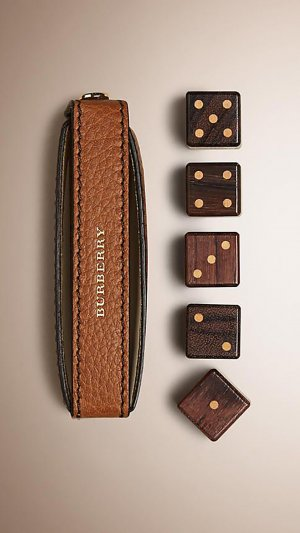 Leather Dice Set With Case | Burberry