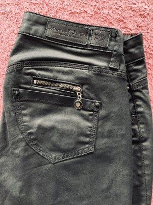 Freeman t. porter Low-Rise Trousers black mixture fibre
