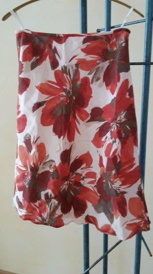 Lebek Falda de lino multicolor Lino