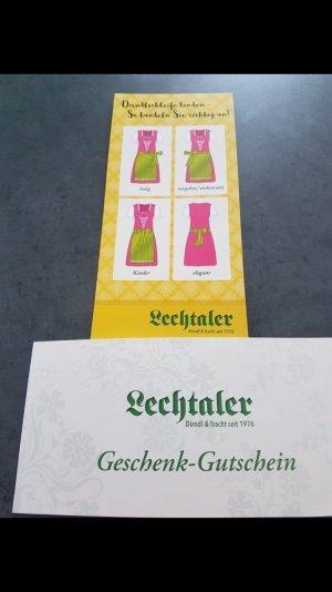 Lechtaler Dirndl neu mit Etikett und Rechnung