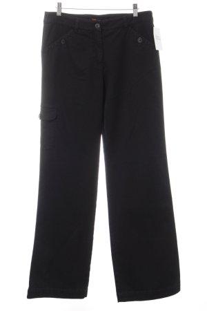 Lecomte Straight-Leg Jeans schwarz Casual-Look