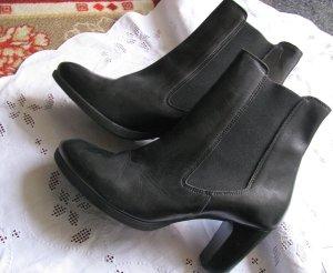 Leder-Ankleboots