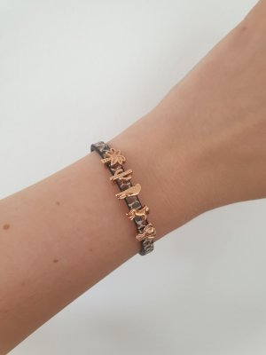 Leather Bracelet rose-gold-coloured