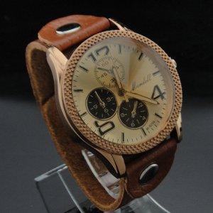 Leder Armband Uhr Mode