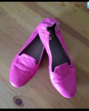 no name Foldable Ballet Flats pink-magenta
