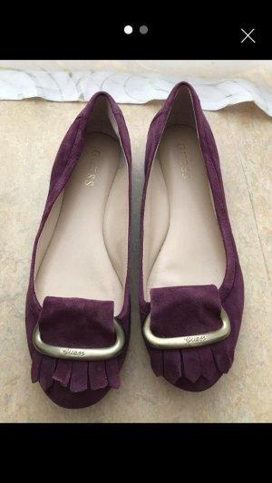 Guess Bailarinas púrpura
