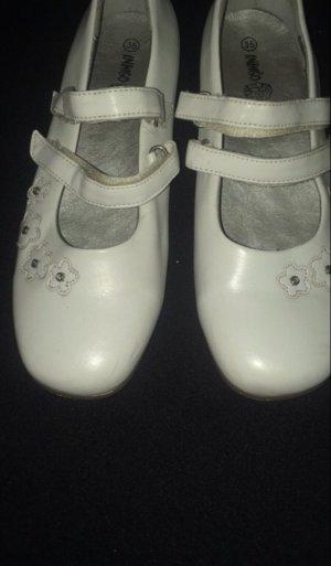 Leder Ballerinas Gr 35