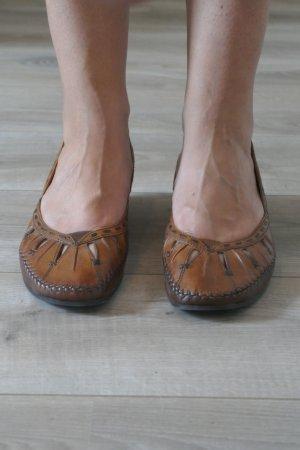Signora M Ballerinas multicolored leather