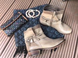 Leder Bootie COX Gr.38 Ancle Boots
