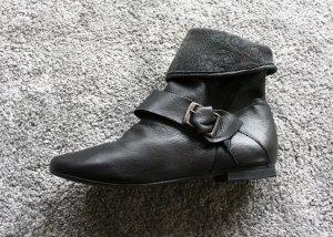 Leder Booties