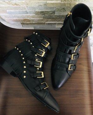 Leder Boots/Booties Stiefeletten von Giuseppe Zanotti in Gr.36