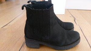 Leder Boots mit Profil