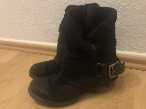 Leder Boots Stiefeletten Kim Kay