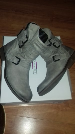 Leder Boots / Stiefelleten Gr.39