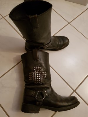Leder Boots Used Look