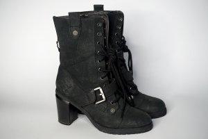 Leder-Boots von Jette Joop - used Look, super Zustand!