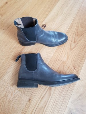 KMB Chelsea Boot gris anthracite