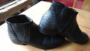 Leder Chelsea Boots NP 110,-