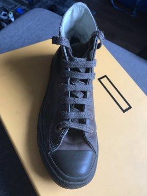 Leder Converse all start Schuhe