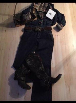 Leder Cowboy Western Stiefel Gr 39(38)