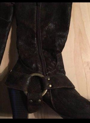 Andrea Conti Western Boots multicolored