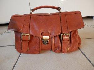 Leder Doctor Messenger Bag Collegetasche Schultertasche UmhängetascheTasche NEU