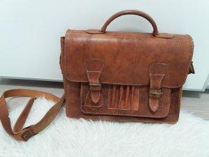 Vintage Boutique Collection Shopper marron clair