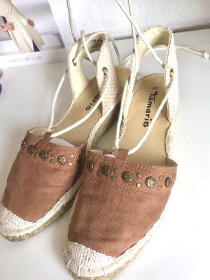 Tamaris Espadrille Sandals multicolored imitation leather