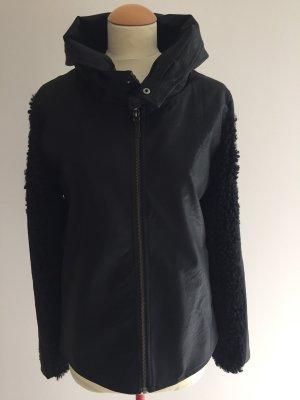 Leder-Fell-Jacke von NÜ Denmark, Gr. XS
