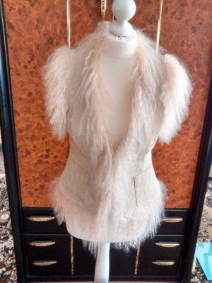 Heine Leather Vest beige