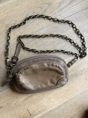Leder Geldbörse Tasche mit Kette