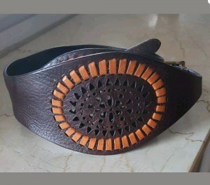 Reptile's House Leather Belt brown