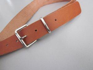 Cintura di pelle marrone chiaro Pelle