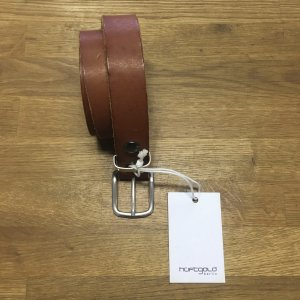 Hüftgold Leather Belt cognac-coloured leather