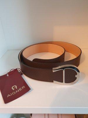 Leder Gürtel von Aigner Gr. 110 *Last Sale*