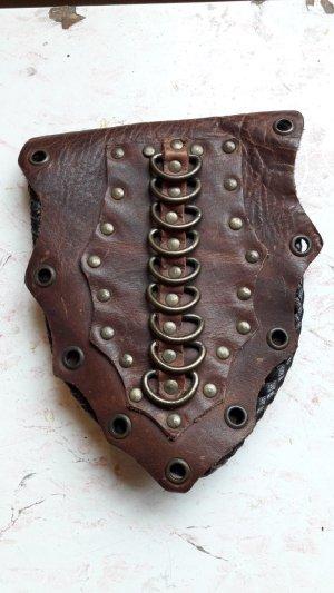 Bag multicolored leather
