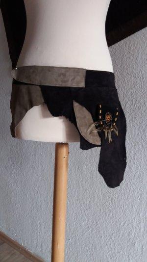Leder Gürteltasche Unikat Handmade