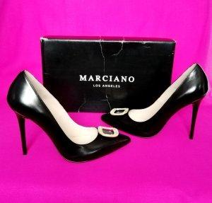 Leder Guess Marciano High Heels Pumps GR.38 Neu mit OVP