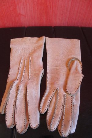 Leather Gloves cream