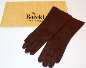 Roeckl Gloves brown leather