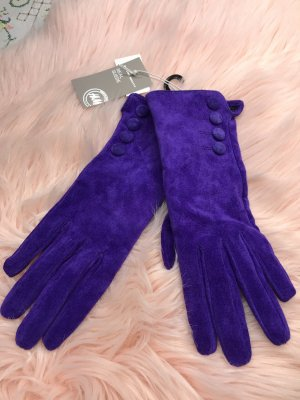 H&M Leather Gloves lilac