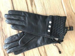 Leder Handschuhe von Roeckl Gr 6 schwarz