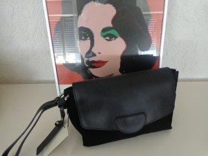 Leder Handtasche Clutch Kiomi Neu *