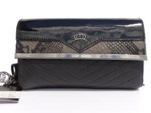 Leder Handtasche Clutch neu schwarz Miss Germany Luxury Collection