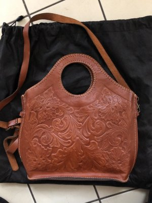 Leder Handtasche handgefertigt