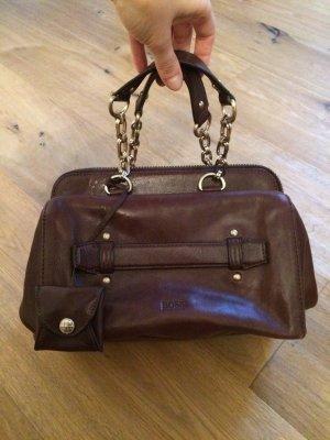 Leder-Handtasche von BOSS
